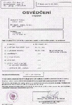 registrace plátce daně