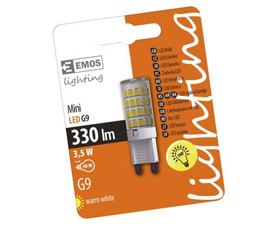 Emos G9 3.5W 230V LED žárovka