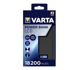 VARTA Power Bank LCD Dual USB 18200mAh 57972