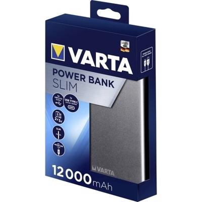 VARTA Power Bank Slim USB/USB-C 12000mAh 57966