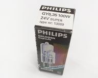 Philips 13089 24V 100W GY6,35