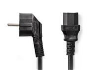 Kabel síťový 230V 5m k TV/PC přímý