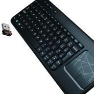 Logitech K400 bezdrátová klávesnice k Smart TV černá