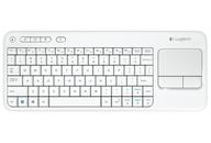 Logitech K400 bezdrátová klávesnice k Smart TV bílá