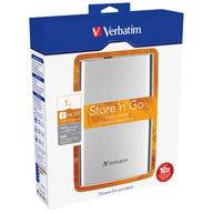 Verbatim Store'n'Go USB 3.0 1TB přenosný pevný disk stříbrný